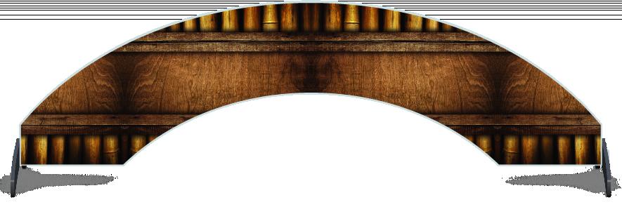 Fillers > Arch Filler > Bamboo Frame