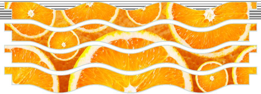 Planks > Wavy Plank x 4 > Oranges