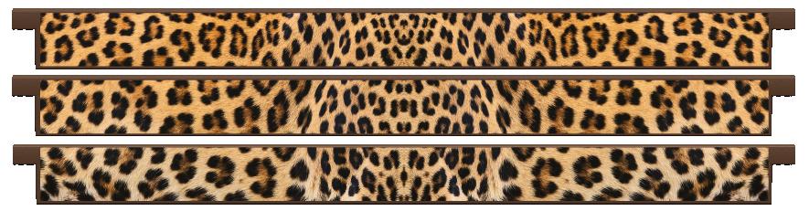 Planks > Straight Plank x 3 > Leopard Skin