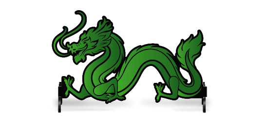 Fillers > Dragon Filler > Green Dragon
