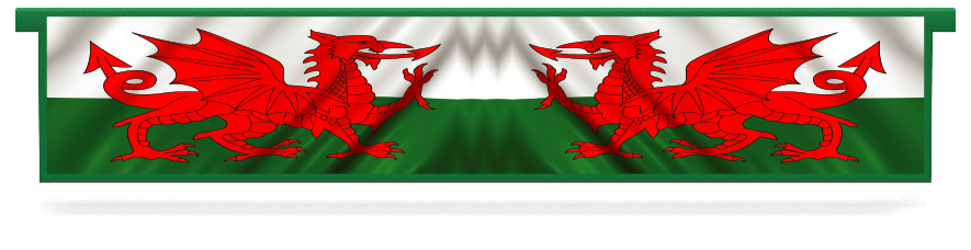 Fillers > Hanging Solid Filler > Welsh Flag