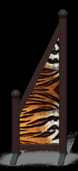 Wing > Sloping Printed > Tiger Skin
