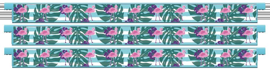 Planks > Straight Plank x 3 > Flamingo