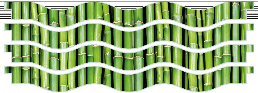 Planks > Wavy Plank x 4 > Bamboo