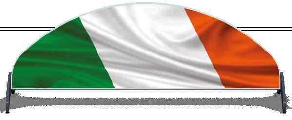 Fillers > Half Moon Filler > Irish Flag