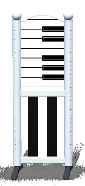 Wing > Combi L > Piano Keys