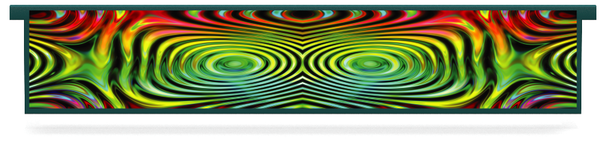 Fillers > Hanging Solid Filler > Colourful Ripples