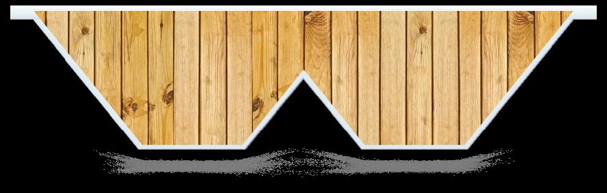 Fillers > Double V Filler > Light Wood