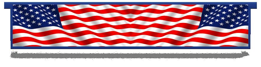 Fillers > Hanging Solid Filler > American Flag