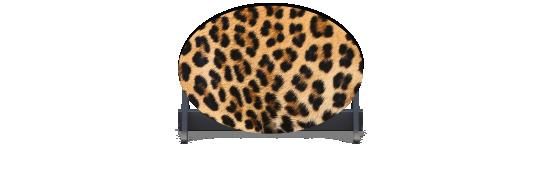 Fillers > Oval Filler > Leopard Skin