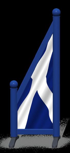 Wing > Sloping Printed > Scottish Flag