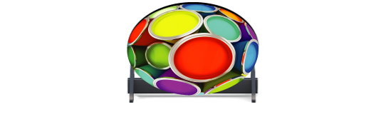 Fillers > Oval Filler > Paint Pots