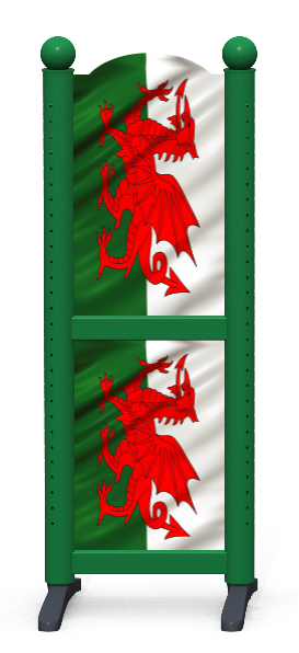Wing > Combi H > Welsh Flag