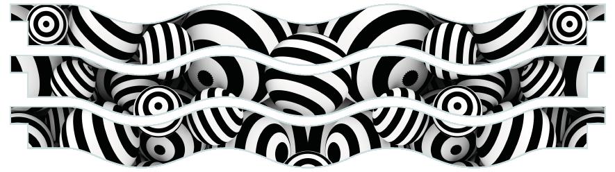 Planks > Wavy Plank x 3 > Striped Circles