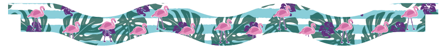 Planks > Wavy Plank > Flamingo