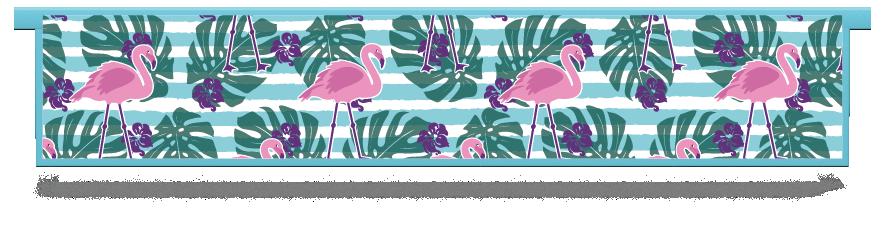 Fillers > Hanging Solid Filler > Flamingo