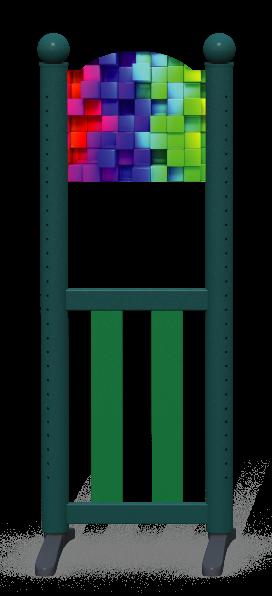 Wing > Combi K Arch > Rainbow Cubes