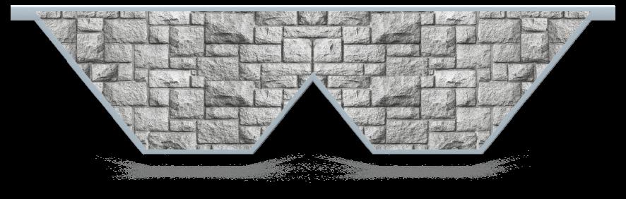 Fillers > Double V Filler > Pillar Brick