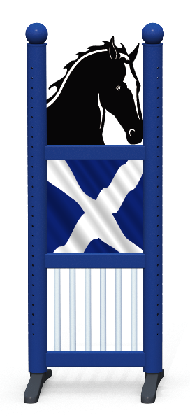 Wing > Combi Horse Head > Scottish Flag