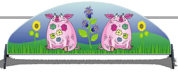 Fillers > Half Moon Filler > Pigs