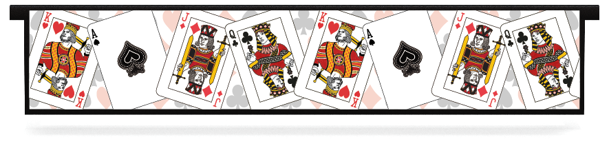 Fillers > Hanging Solid Filler > Playing Cards