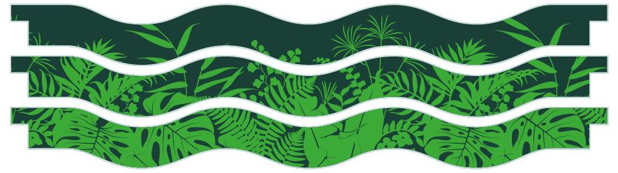 Planks > Wavy Plank x 3 > Jungle