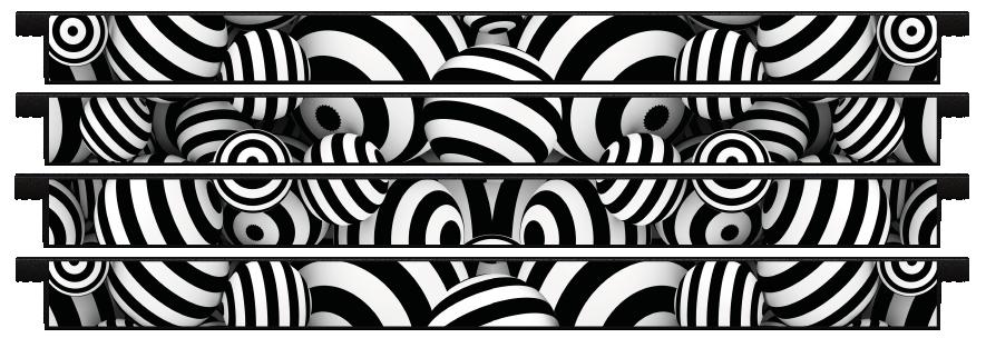Planks > Straight Plank x 4 > Striped Circles