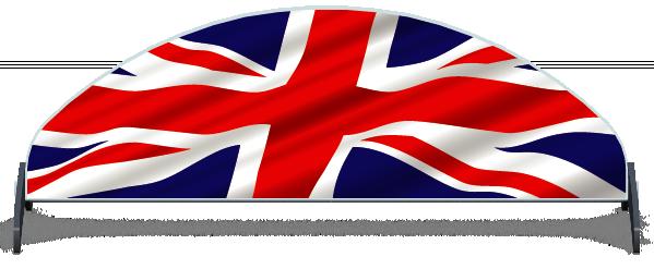 Fillers > Half Moon Filler > United Kingdom Flag