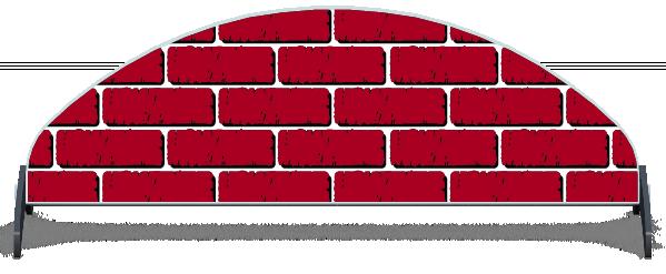 Fillers > Half Moon Filler > Puissance Brick