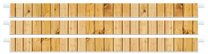 Planks > Straight Plank x 3 > Light Wood