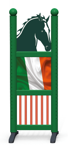 Wing > Combi Horse Head > Irish Flag