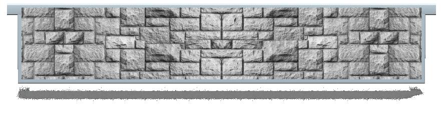 Fillers > Hanging Solid Filler > Pillar Brick