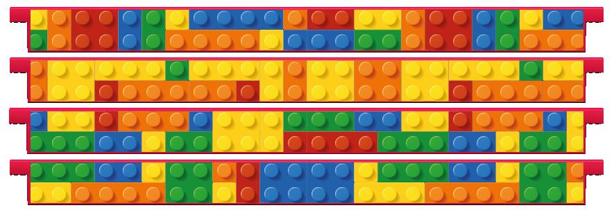 Planks > Straight Plank x 4 > Toy Bricks