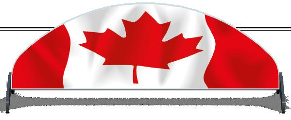 Fillers > Half Moon Filler > Canadian Flag