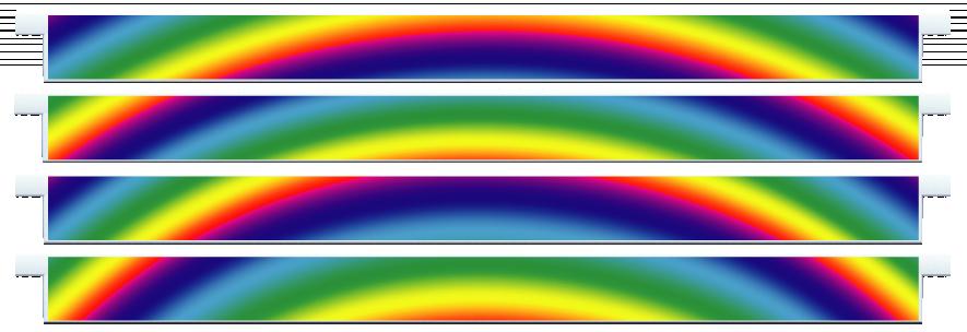 Planks > Straight Plank x 4 > Rainbow