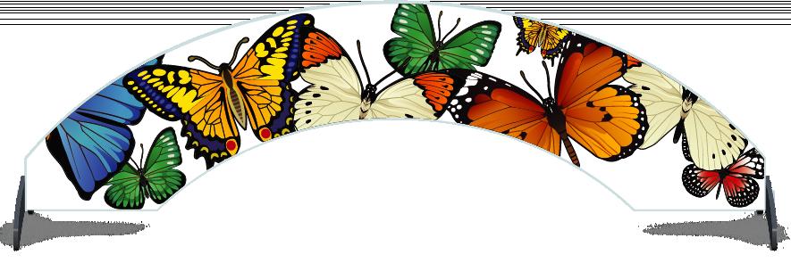 Fillers > Arch Filler > Butterflies