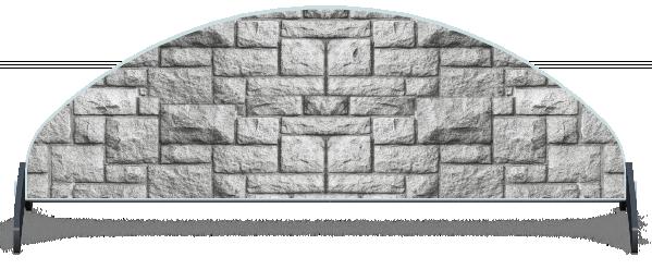 Fillers > Half Moon Filler > Pillar Brick