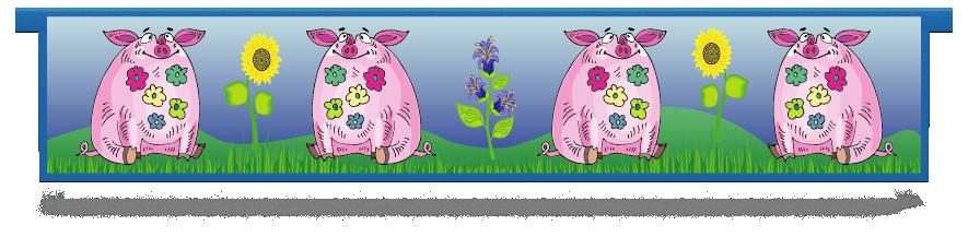 Fillers > Hanging Solid Filler > Pigs