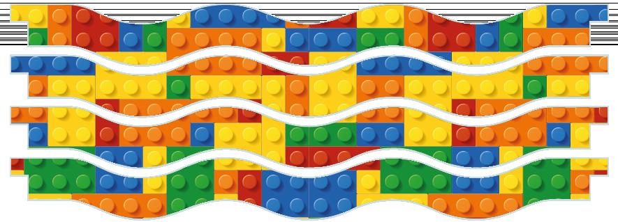 Planks > Wavy Plank x 4 > Toy Bricks