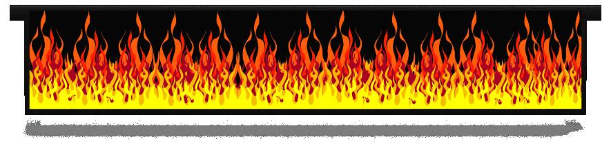 Fillers > Hanging Solid Filler > Hot Rod Fire