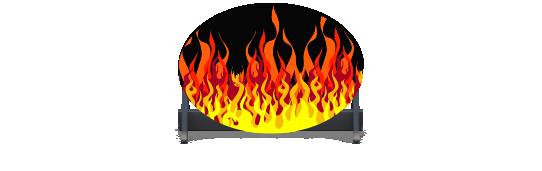 Fillers > Oval Filler > Hot Rod Fire