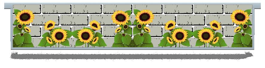Fillers > Hanging Solid Filler > Sunflowers