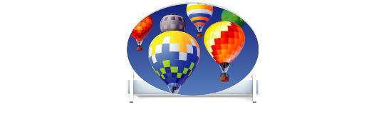 Fillers > Oval Filler > Hot Air Balloons