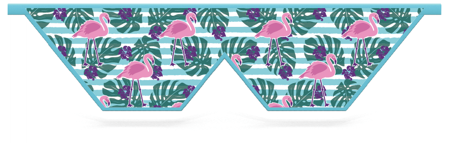 Fillers > Double V Filler > Flamingo