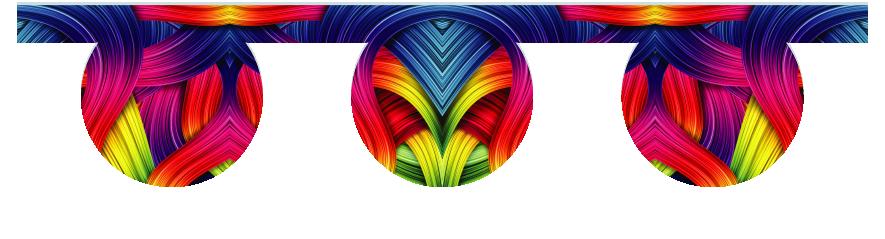 Fillers > O Filler > Rainbow Ribbons