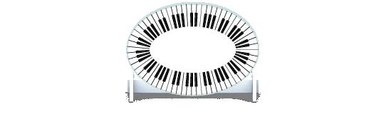 Fillers > Oval Filler > Piano Keys