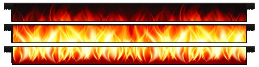 Planks > Straight Plank x 3 > Fire