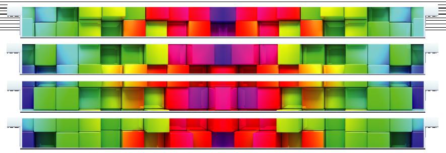Planks > Straight Plank x 4 > Rainbow Cubes