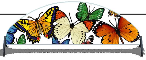 Fillers > Half Moon Filler > Butterflies