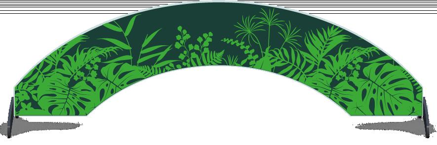Fillers > Arch Filler > Jungle